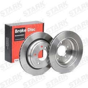 5 Touring (E39) STARK Bremsscheiben SKBD-0020166