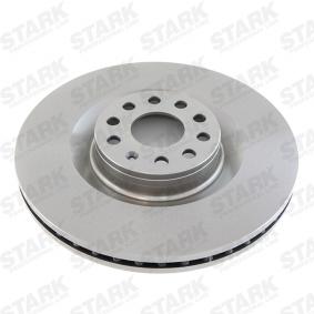 1K0615301AB за VW, AUDI, SKODA, SEAT, Спирачен диск STARK (SKBD-0020214) Онлайн магазин