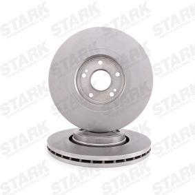 STARK SKBD-0020309 Bremsscheibe OEM - 8200007122 NISSAN, RENAULT, DACIA, RENAULT TRUCKS, AKEBONO, NK, A.B.S., MAXTECH günstig