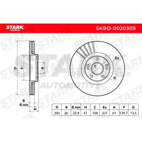 STARK Bremsscheibe (SKBD-0020309) niedriger Preis