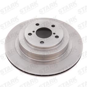 Bremsscheibe STARK Art.No - SKBD-0020345 OEM: 26700AE081 für SUBARU, BEDFORD kaufen