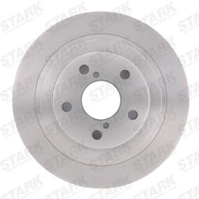 STARK Bremsscheibe 26700AE04A für SUBARU bestellen