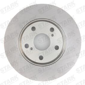 STARK SKBD-0020163 Bremsscheibe OEM - 4351205080 TOYOTA, LEXUS, WIESMANN, A.B.S. günstig