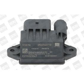 Control unit, glow plug system BERU (GSE116) for MERCEDES-BENZ E-Class Prices