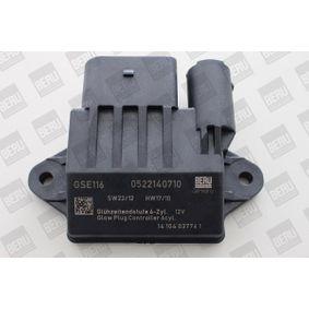 Popular Control unit glow plug system BERU GSE116 for MERCEDES-BENZ E-Class E 350 BlueTEC 4-matic (212.094) 252 HP