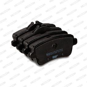 0064203420 für MERCEDES-BENZ, Bremsbelagsatz, Scheibenbremse FERODO (FDB4169) Online-Shop