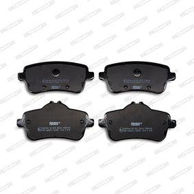 FERODO FDB4169 Bremsbelagsatz, Scheibenbremse OEM - 0064203420 MERCEDES-BENZ, OEMparts günstig