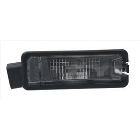 Светлини на регистрационния номер TYC (15-0181-00-2) за VW GOLF Цени