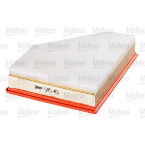 Luftfilter (585401) hertseller VALEO für BMW 3 Limousine (E90) ab Baujahr 12.2004, 163 PS Online-Shop