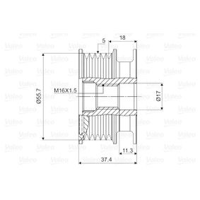 Lichtmaschine Einzelteile 588034 VALEO