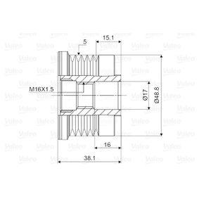 Lichtmaschine Einzelteile 588038 VALEO