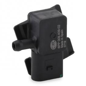 HELLA Differenzdrucksensor 6PP 009 409-021