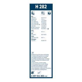 Escobillas de limpiaparabrisas (3 397 011 802) fabricante BOSCH para SUZUKI Samurai SUV (SJ_) año de fabricación 11/1988, 86 CV Tienda online