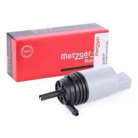 67126934159 für BMW, MINI, Waschwasserpumpe, Scheibenreinigung METZGER (2220037) Online-Shop