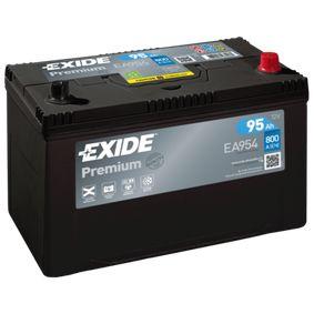 EXIDE Starterbatterie 371103K300 für HYUNDAI bestellen
