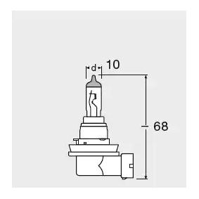 Крушка с нагреваема жичка, фар за мъгла 64219L+ онлайн магазин