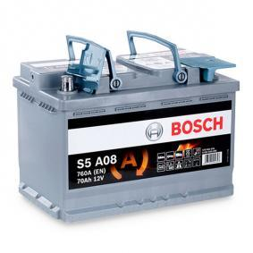 Beliebte Autobatterie BOSCH 0 092 S5A 080 für VW TOURAN 2.0 TDI 140 PS