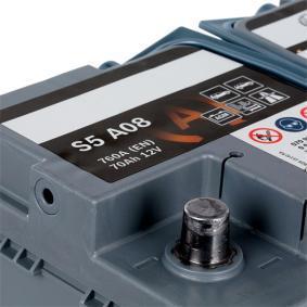0 092 S5A 080 BOSCH Akkumulator - VW TOURAN 12.2005
