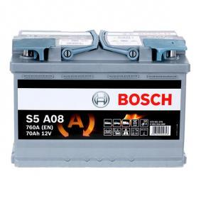 BOSCH Batería 0 092 S5A 080 para VW PASSAT 1.9 TDI 130 CV comprar