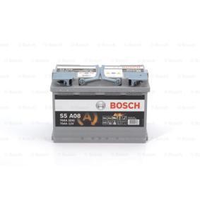 VW PASSAT 1.9 TDI 130 CV año de fabricación 11.2000 - Batería (0 092 S5A 080) BOSCH Tienda online