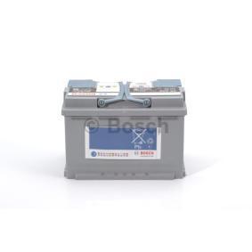 Batería Art. No: 0 092 S5A 080 fabricante BOSCH para VW PASSAT a buen precio