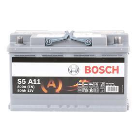244100001R für VW, MERCEDES-BENZ, OPEL, BMW, AUDI, Starterbatterie BOSCH (0 092 S5A 110) Online-Shop