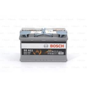 BOSCH 0 092 S5A 110 Starterbatterie OEM - 244100001R AUDI, BMW, FORD, JAGUAR, MERCEDES-BENZ, NISSAN, OPEL, PORSCHE, RENAULT, SKODA, VAUXHALL, VOLVO, VW, HYUNDAI, MINI, LAND ROVER günstig