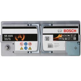 Starterbatterie BOSCH Art.No - 0 092 S5A 150 OEM: 71770280 für FIAT, ALFA ROMEO, LANCIA kaufen