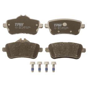 TRW Bremsbelagsatz, Scheibenbremse 0064203420 für MERCEDES-BENZ bestellen