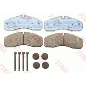 TRW Bremsbelagsatz, Scheibenbremse 2995632 für FIAT, IVECO, SATURN bestellen