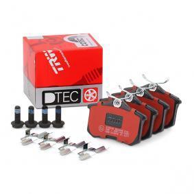440603511R für RENAULT, DACIA, DS, SANTANA, RENAULT TRUCKS, Bremsbelagsatz, Scheibenbremse TRW (GDB1330DTE) Online-Shop