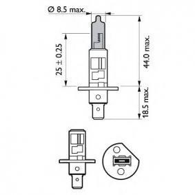 5016710 für FORD, Glühlampe, Fernscheinwerfer PHILIPS (12258WHVSM) Online-Shop