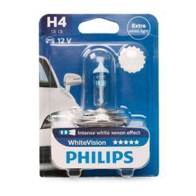Glühlampe, Fernscheinwerfer PHILIPS Art.No - 12342WHVB1 OEM: 90013538 für OPEL, CHEVROLET, VAUXHALL kaufen