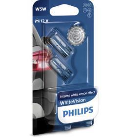PUNTO (188) PHILIPS Number plate light bulb 12961NBVB2