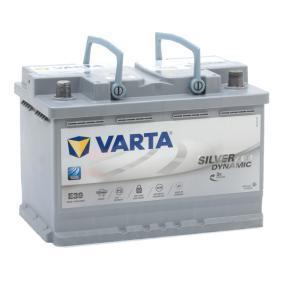 Baterie (570901076D852) výrobce VARTA pro SKODA Octavia II Combi (1Z5) rok výroby 06.2009, 105 HP Webový obchod