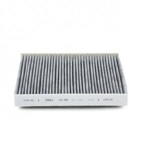 Golf Sportsvan (AM1, AN1) MAHLE ORIGINAL Filter Innenraumluft LAK 888