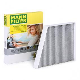 Filter, Innenraumluft MANN-FILTER Art.No - FP 3172 OEM: A2118300018 für MERCEDES-BENZ, SMART, MAYBACH kaufen