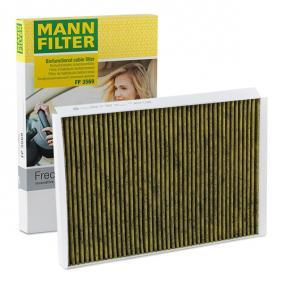 Filter, Innenraumluft MANN-FILTER Art.No - FP 3569 OEM: 2E0819638 für VW, MERCEDES-BENZ, AUDI, SKODA, SEAT kaufen