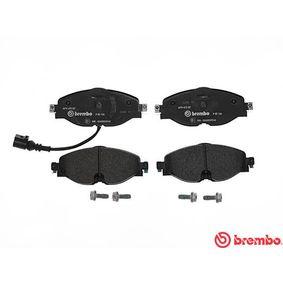 BREMBO P 85 126 Kit de plaquettes de frein, frein à disque OEM - 5Q0698151B AUDI, SEAT, SKODA, VW, VAG, OEMparts à bon prix