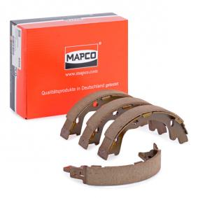 MAPCO Bremsbackensatz Hinterachse 8556 Erfahrung