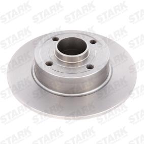Bremsscheibe STARK Art.No - SKBD-0020241 OEM: 8200038305 für RENAULT, DACIA, RENAULT TRUCKS kaufen