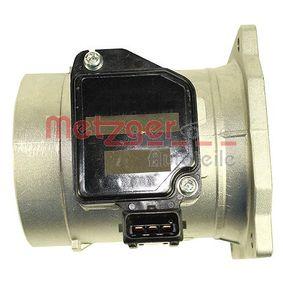 AUDI 80 (8C, B4) METZGER Luftmassenmesser und Luftmengenmesser 0890302 bestellen