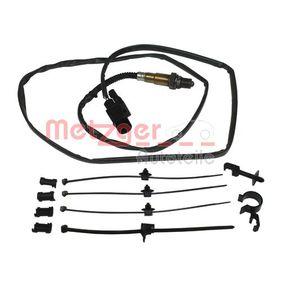 Lambdasonde METZGER Art.No - 0893409 OEM: 022906262R für VW, AUDI, SKODA, SEAT kaufen
