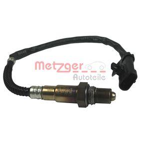 Lambdasonde METZGER Art.No - 0893411 OEM: 8200033618 für RENAULT, SANTANA, RENAULT TRUCKS kaufen