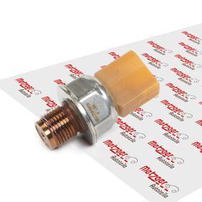 METZGER Snímač, tlak paliva 0906182