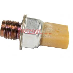 Snímač, tlak paliva 0906182 METZGER