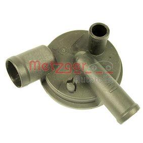 Válvula, ventilación cárter METZGER Art.No - 2385006 obtener