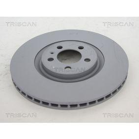 Bremsscheibe TRISCAN Art.No - 8120 291065C OEM: 6R0615301B für VW, AUDI, SKODA, SEAT, ALFA ROMEO kaufen