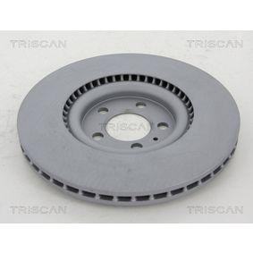 TRISCAN Bremsscheibe 6R0615301B für VW, AUDI, SKODA, SEAT, ALFA ROMEO bestellen