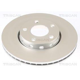 Bremsscheibe TRISCAN Art.No - 8120 29108C OEM: 4B0615301B für VW, AUDI, SKODA, SEAT, PORSCHE kaufen